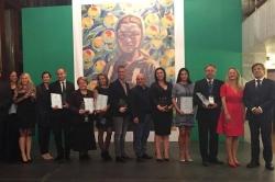 """Aquahouse Thermal & Beach  е отличен с награда на Българския съюз по балнеология и СПА туризъм за """"Най-добра СПА концепция"""" за 2017"""