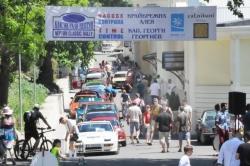 """Атракция по крайбрежната алея с ретро автомобилите на 19-ото класик рали """"Нептун"""""""